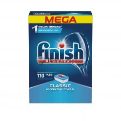 FINISH/CALGONIT powerball tablety classic 100ks  lemon