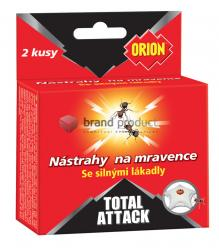 ORION Total Attack  Nástrahy na mravence 2ks