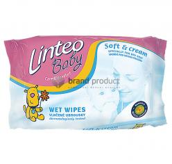 LINTEO BABY Soft and Cream vlhčené ubr. 72ks
