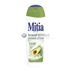 MITIA soft care sprchové mléko 400ml Avocado in palm milk