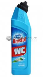 KRYSTAL WC anticalc ceramic modrý 750 ml kyselý